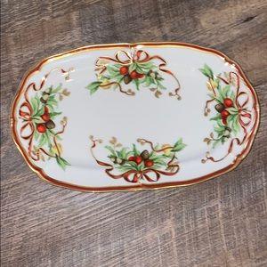 Tiffany Co. Holiday Platter Serving Tray